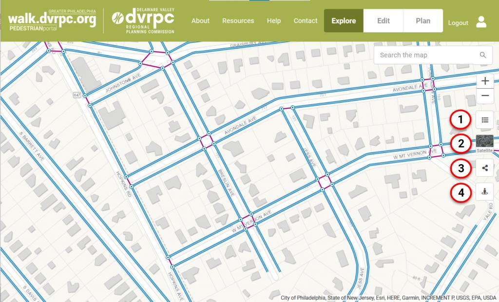 Explore: Map Tools