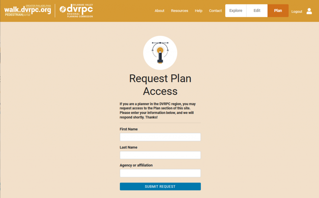 Plan: Request Access